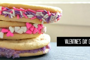 Valentines day cookie sandwiches from nelliebellie.com