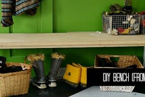 diy bench feature