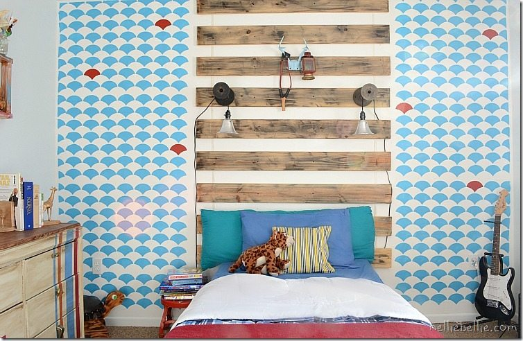 boys bedroom on a budget: from NellieBellie