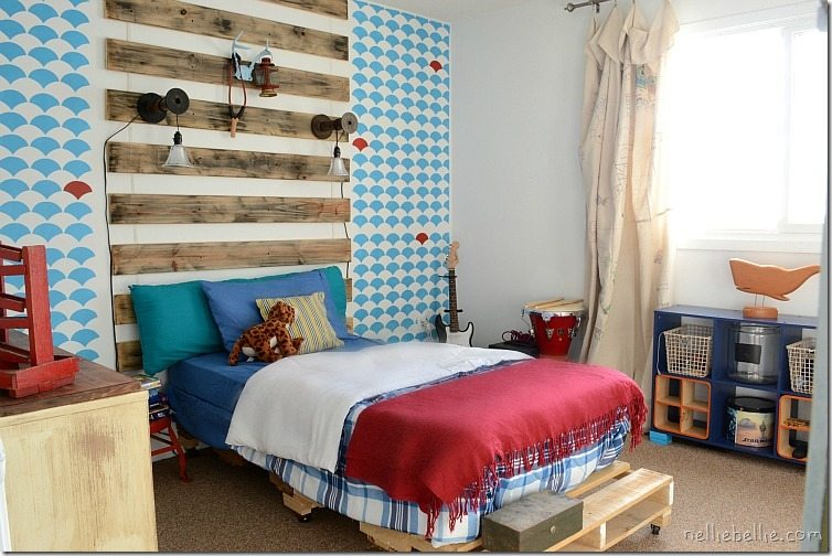boy's bedroom: a NellieBellie exclusive