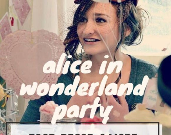 Alice in Wonderland party. A great party idea for birthdays and more!
