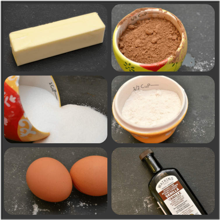 brownie ingredients