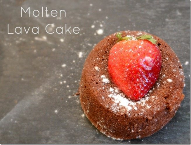 recipe for molten lava cakes. Katies Kitchen at NellieBellie