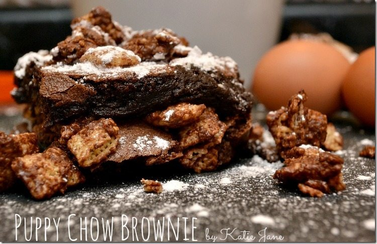 puppychow brownie