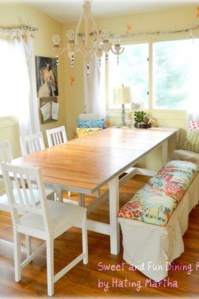 $86.66 Dining Room makeover!