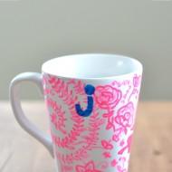 How to paint a mug.
