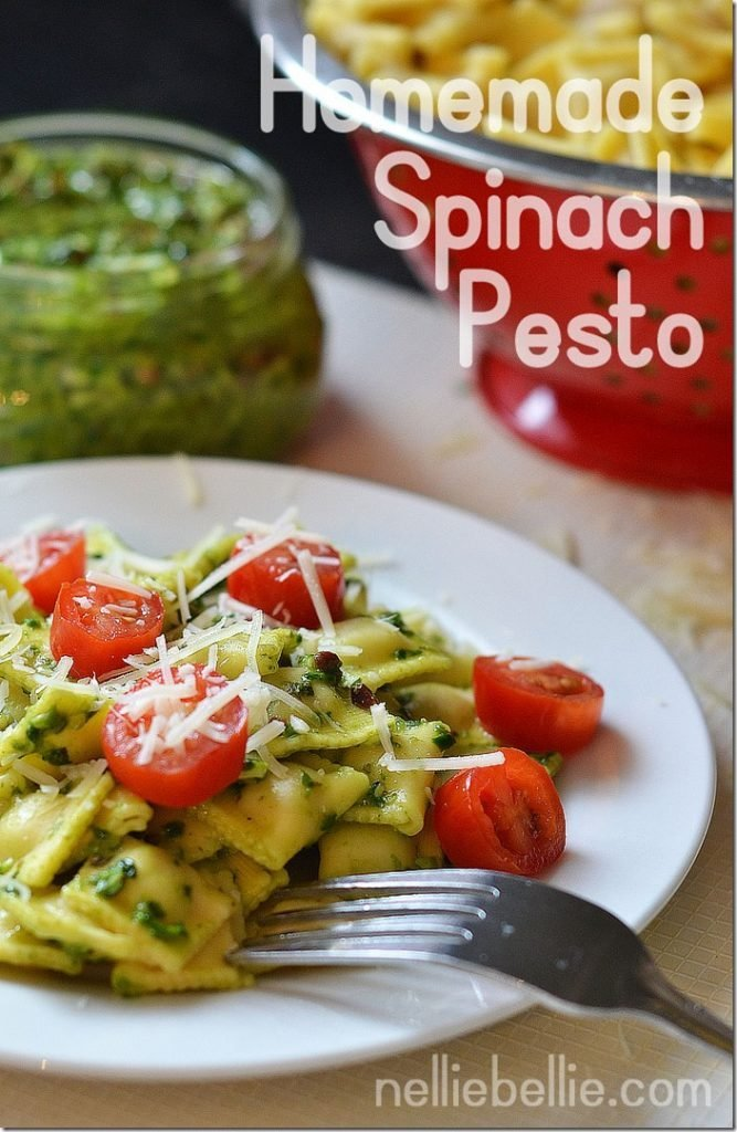 Homemade Spinach Pesto