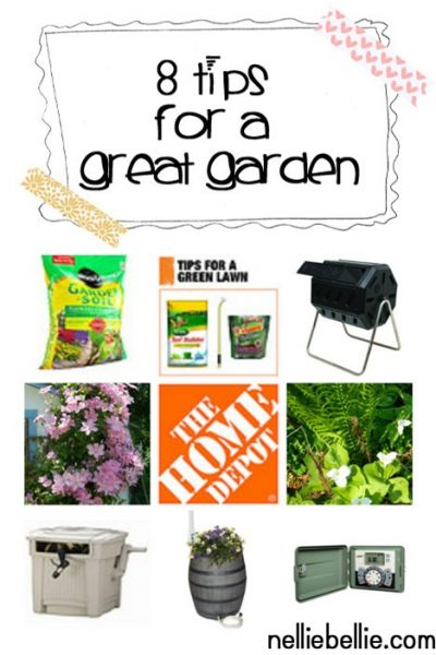 8 tips for a great garden