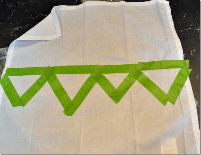 anthro-inspired block napkins. an easy tutorial!