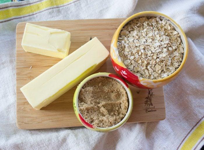 Oatmeal Crust for cheesecake