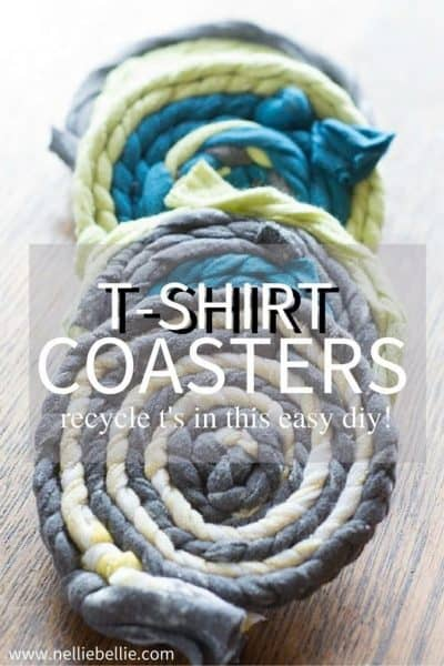 easy T-shirt Coasters