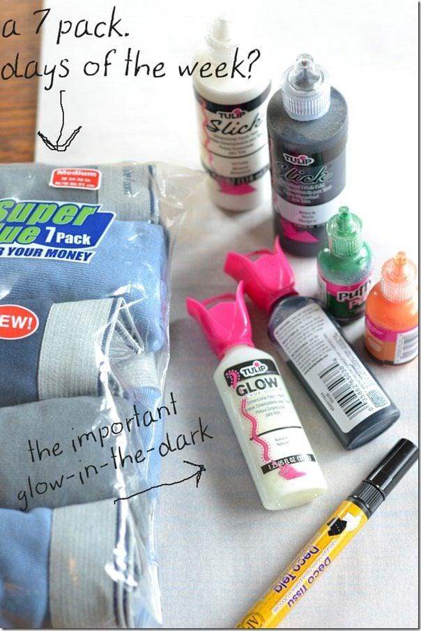 Personalized briefs: a fun gift idea.