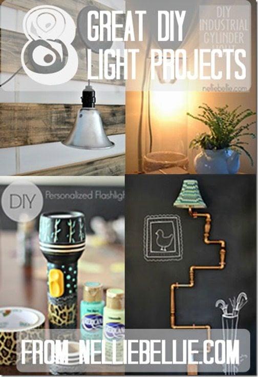 8 Fantastic DIY lights