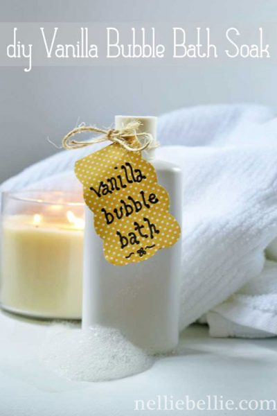 How to make homemade bath soak