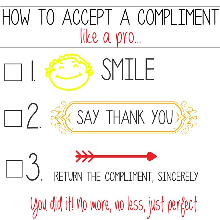 How to Accept Compliments when You Have Low Self Esteem