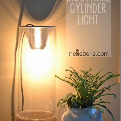 How to make a cylinder light.