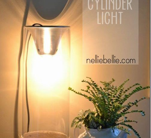 Industrial cylinder light from nelliebellie.com