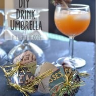 Make your own drink umbrellas