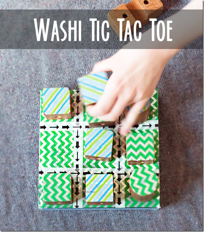 Washi tic tac toe