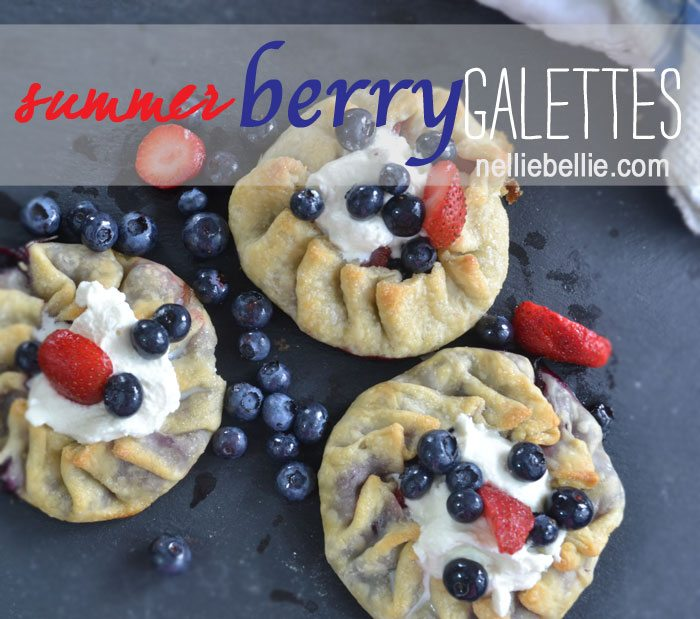 Galettes, the awesome cheater way to make pie, from nelliebellie.com