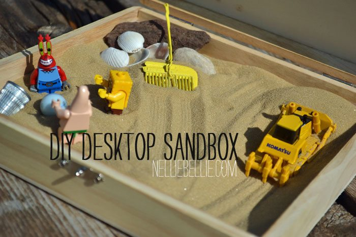 make a desktop sandbox! Great gift for co-workers, college students, and well...everybody!
