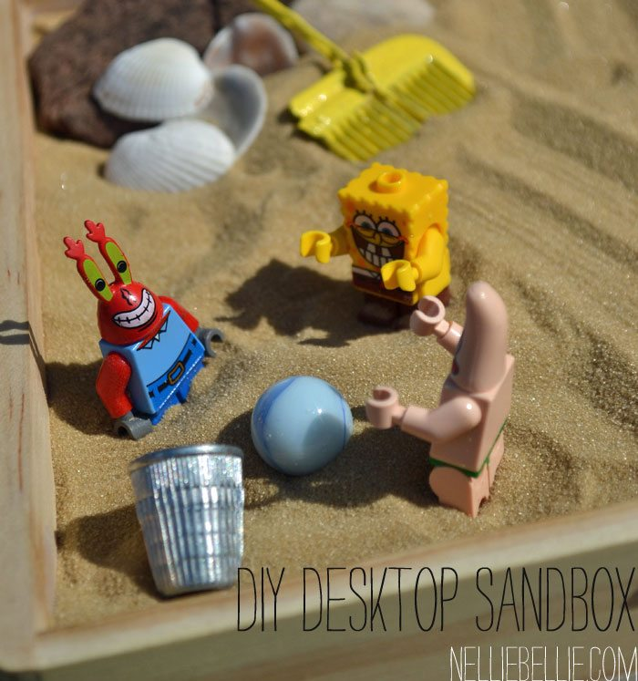 What a great gift idea for kids, co-workers, college students!! A desktop sandbox!