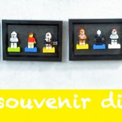 Lego mini-figure display from nelliebellie.com