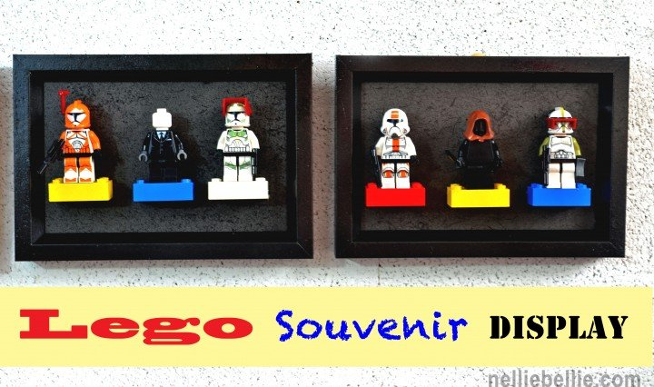 Lego souvenir display from nelliebellie.com