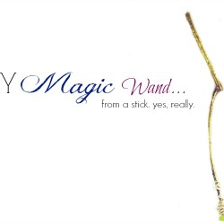 Create a magic wand from a stick! Easy tutorial. Great gifts for sure!