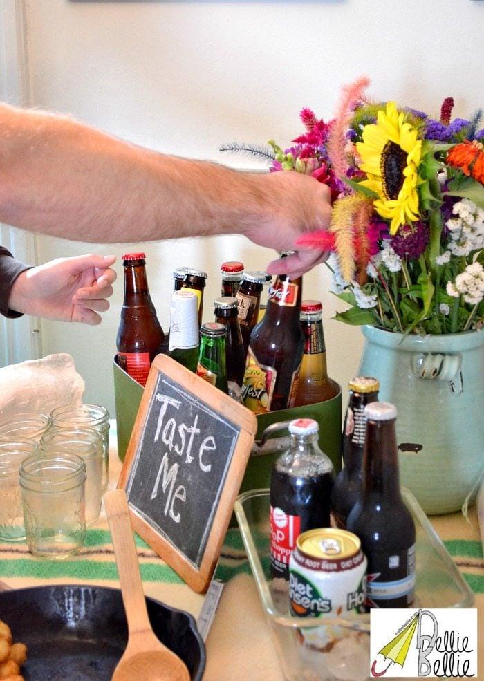 beer-tasting party ideas!