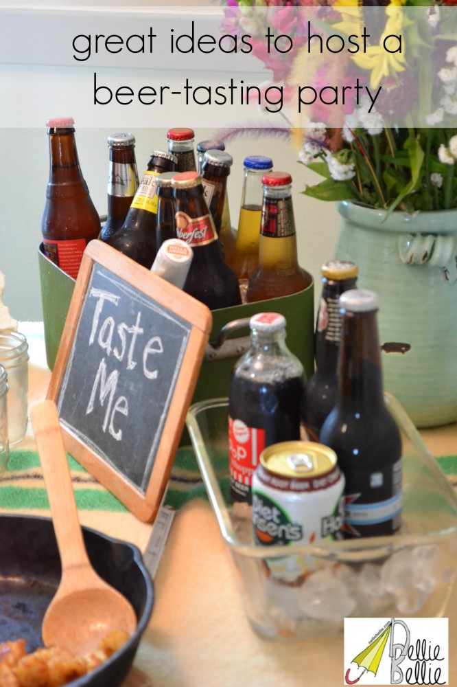 great ideas to host a beer-tasting party!