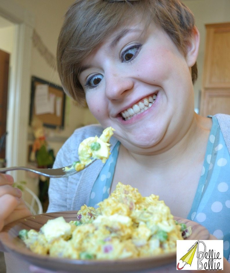 Cauliflower Potato Salad recipe is a great recipe to make traditional potato salad in a healthier way with no sacrafice for flavor.