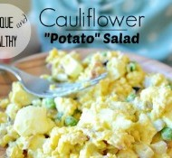 This healthy and simple potato salad is also incredibly delicious! www.nelliebellie.com