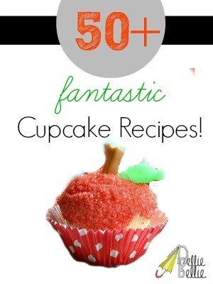Over 50 cupcake recipes at NellieBellie!!! #cupcakes #cupcakerecipes