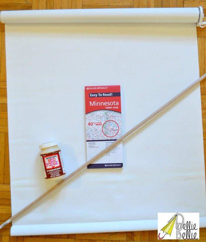 diy map materials