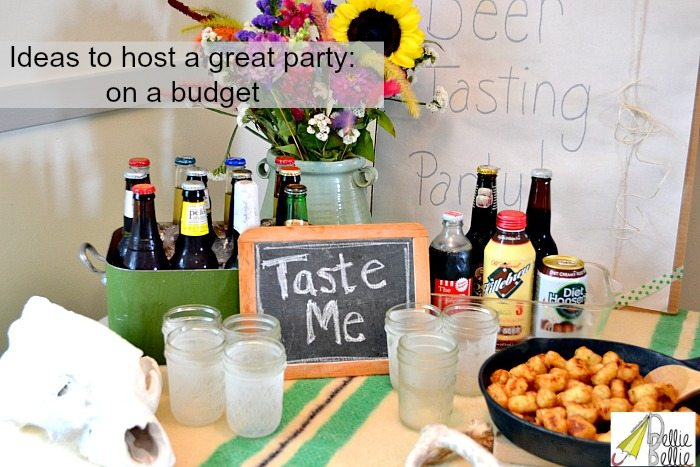 ideas to host a party on a budget