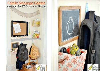 How to make a message center (for rentals)