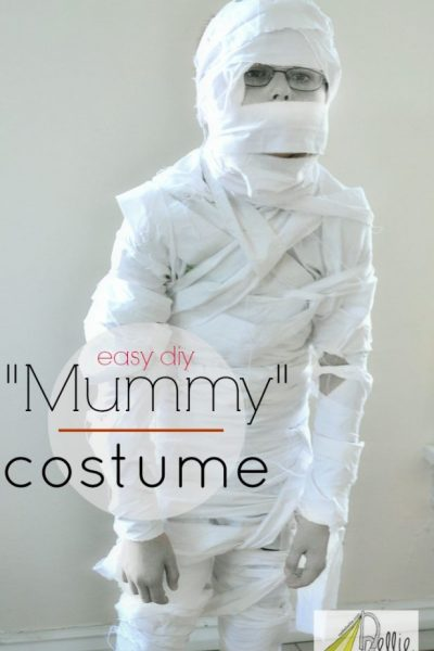How to make a Halloween mummy costume