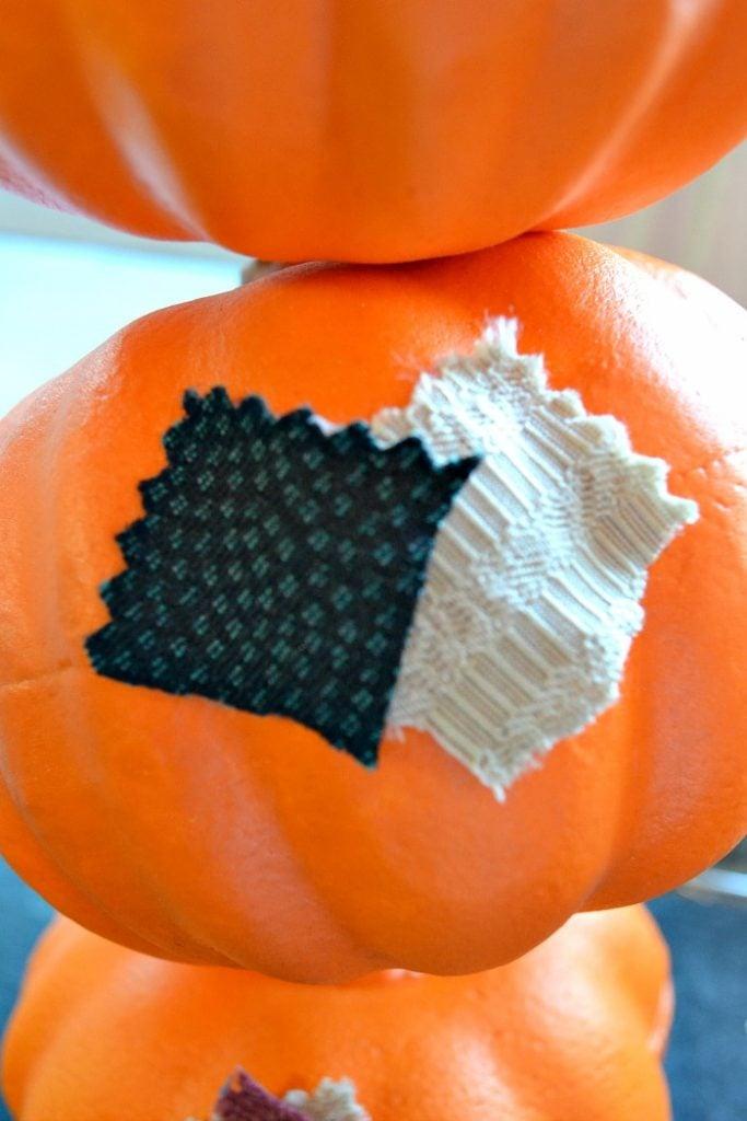 pumpkin topiary step3