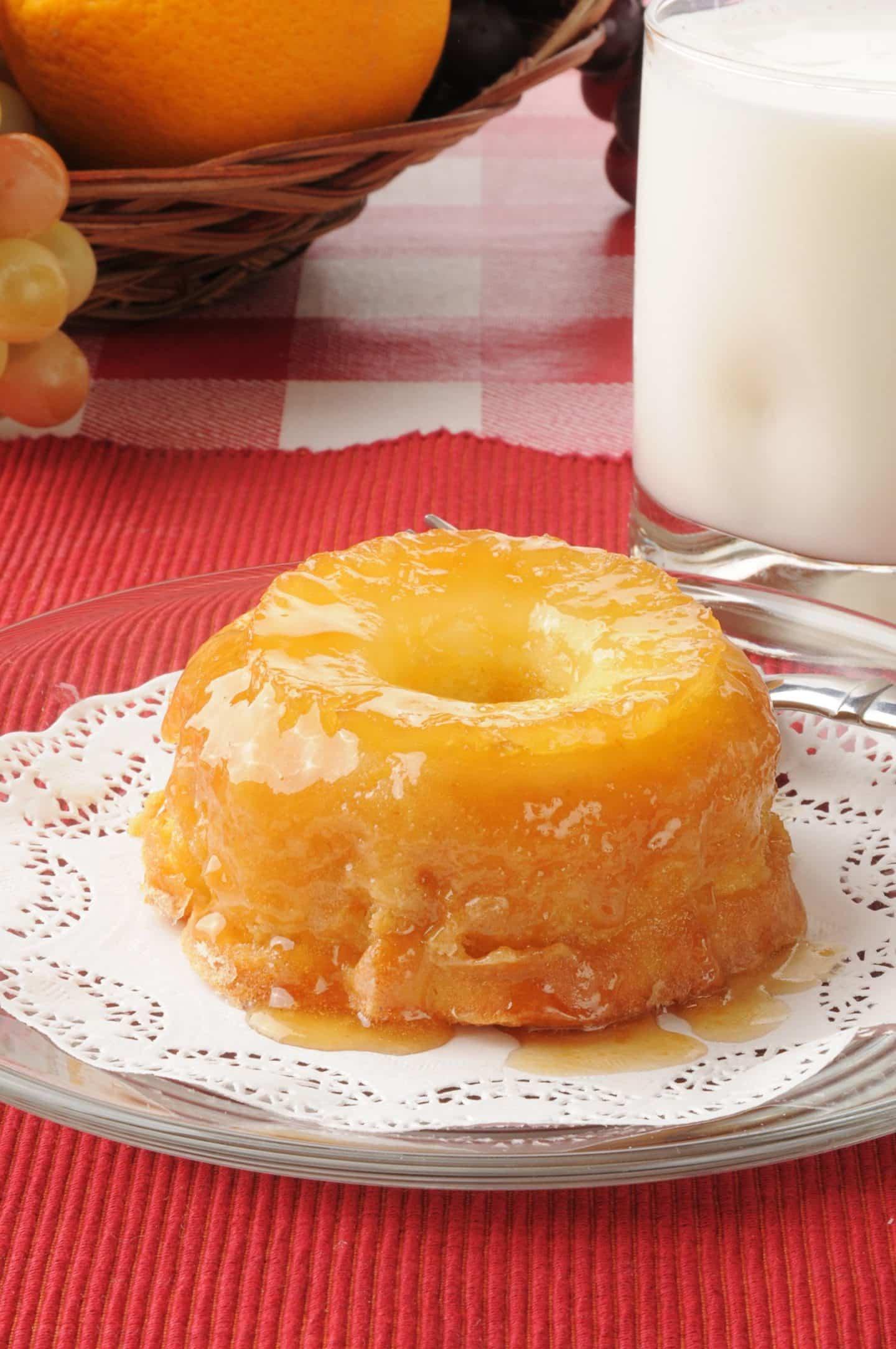 individual pineapple cake