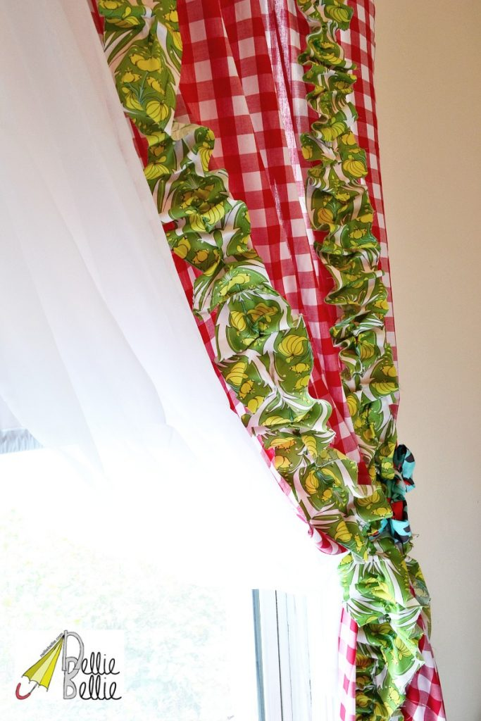 no-sew curtains with fabric from @OnlineFabricStore #no-sew