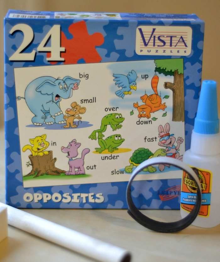 diy magnet puzzle