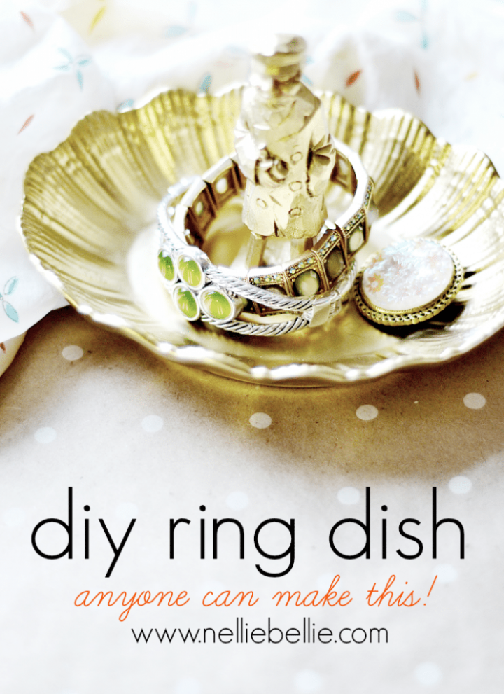 How to make a ring dish at home.