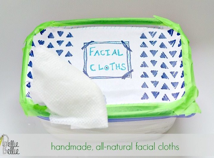 how to make face wipes.