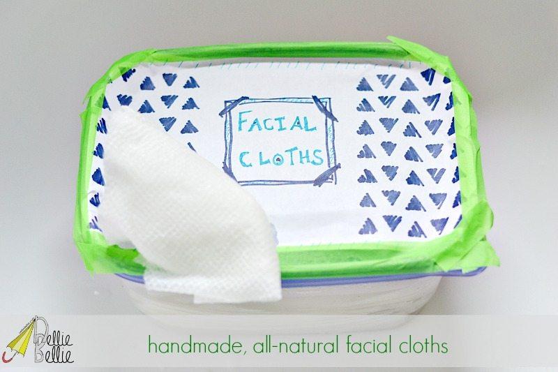 homemade facial cloths3