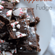 Just as easy as the original microwave fudge, the peppermint fudge will be a super recipe at holidays!