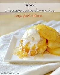 semi-homemade Pineapple Upside Down cake.