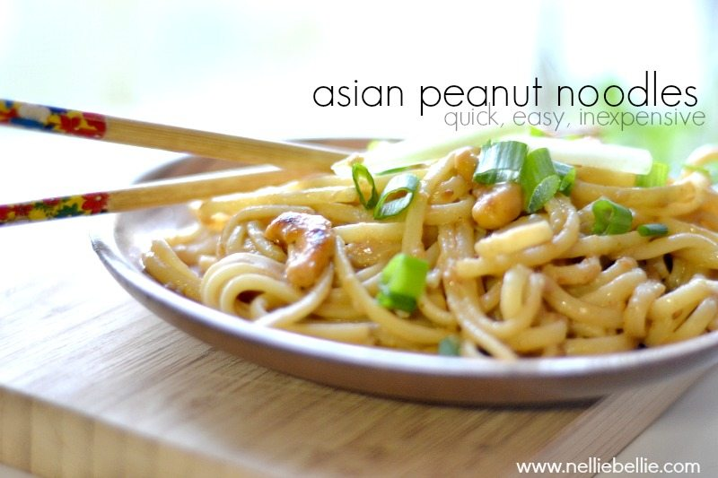asian peanut noodle recipe