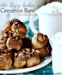 semi-homemade Cinnamon Buns.