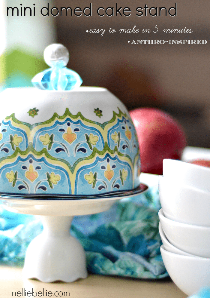 How to make a cupcake stand in 5 easy steps.